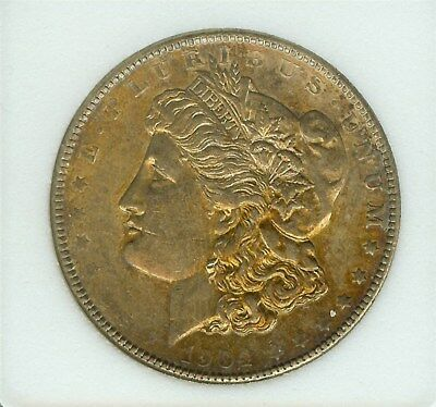 1904 Morgan Silver Dollar  Choice Uncirculated  Toned!