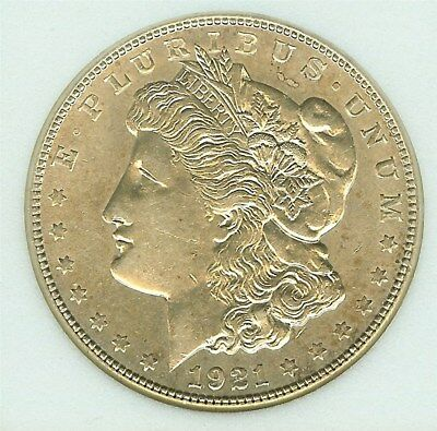1921-S Morgan Silver Dollar  Near Gem Uncirculated  Better Date!