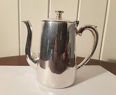 Small silver plate teapot