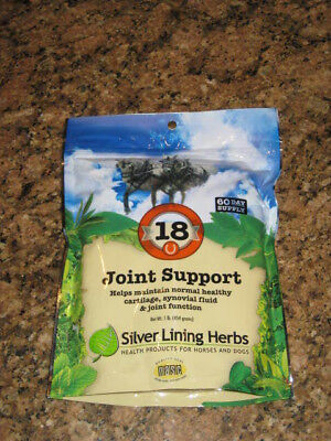 SILVER LINING HERBS #18 Joint Support Synovial Fluids Horse Equine 1 Pound