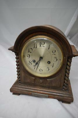 Vintage Chiming Mantle Clock 1970s Mantel/Carriage Clock