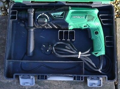 Hitachi Dh24Px Corded 230V Sds+ Rotary Hammer Drill With Carry Case