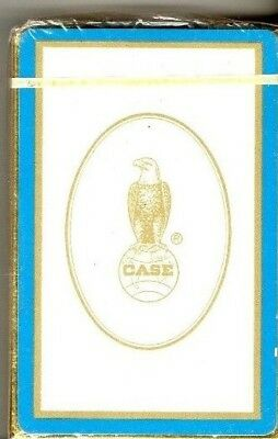Great Deck of Playing Cards J.I. Case with Old Abe NEW Sealed in Package Racine