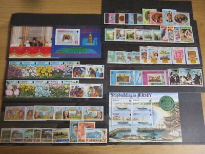 Jersey - Small Collection of Stamps