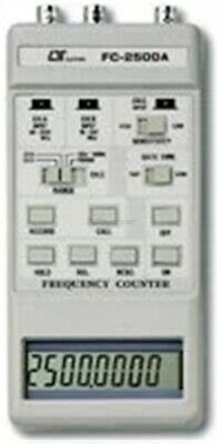 FC-2500A Frequency COUNTER(2500/100/10MHZ)2.5GHZ Lutron Meter Tester Measurem xc