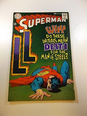 Superman #204 VG/FN condition Huge auction going on now!