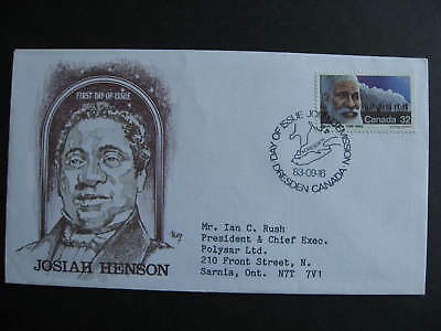 Canada Marg cachet FDC first day cover, Josiah Henson Sc 997