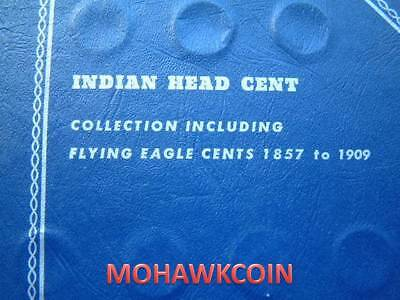 Near Complete Indian Head Cent Set - 55 Different Issues