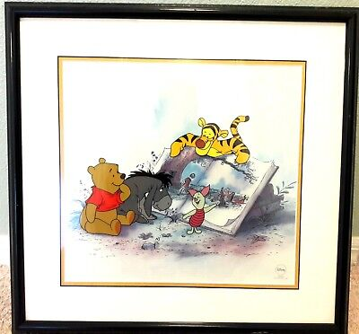 DISNEY 'Winnie the Pooh and Storytime Too' Serial Edition Size 5000 RARE