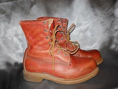 vtg sz 9 RED WING Shoe co.  Irish Setter Sport Work Boots SuperSole USA Soft Toe