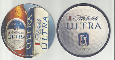 Lot Of 5  Michelob Ultra Beer Coasters-A-B Of St. Louis, MO #1982A PGA Tour 2012