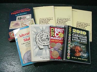 NobleSpirit NO RESERVE {3970}Selection of WW Coin & Currency Collecting Books