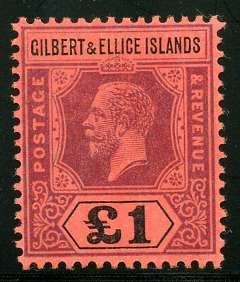 Gilbert & Ellice  Scott#26  Mint Light  Hinged Scott Value $600.00