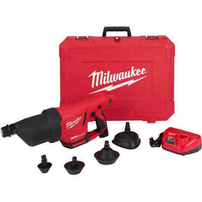 Milwaukee 2572A-21 M12 Airsnake Compressed Air Drain Cleaner Kit with Carrying C
