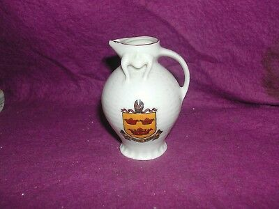 Goss Crested China Boston Ewer. St. Osyth Priory.