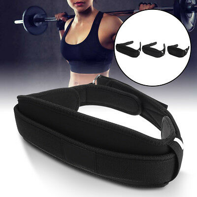 Nylon Weight Lifting Belt Gym Fitness Training Workout Support Brace Strap