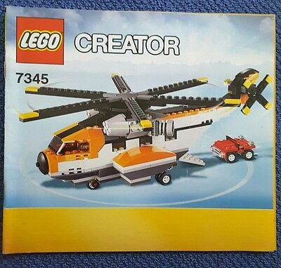 Lego Instruction Manual For 60109 X 3 Manual Only 499