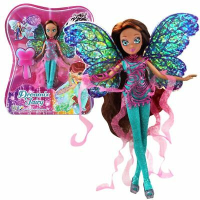 Layla Aisha | Dreamix Fairy Puppe | Winx Club | World of Winx |Magisches Gewand