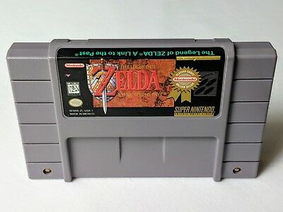 Legend of Zelda Link to the Past for Super Nintendo SNES **AUTHENTIC & TESTED**