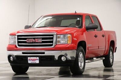 GMC Sierra 1500 SLE Crew Cab  4X4 Z71 Fire Red Truck For Sale 2012 SLE Crew Cab  4X4 Z71 Fire Red Truck For Sale Used 5.3L V8 16V Automatic