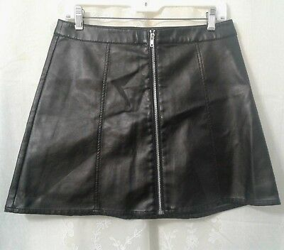 ee22cc90ca NWT Women Divided H & M Black Sexy Short Flare Skirt Size Large MSRP $24.99