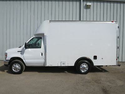 E350 1 Ton 5.4 V-8 Gas 12Ft Box Truck Cube Delivery Panel Van Low Miles