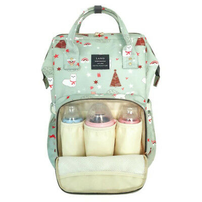 LAND Diaper Bag Mummy Maternity Nappy Bag Baby Travel Backpackn For Baby Care