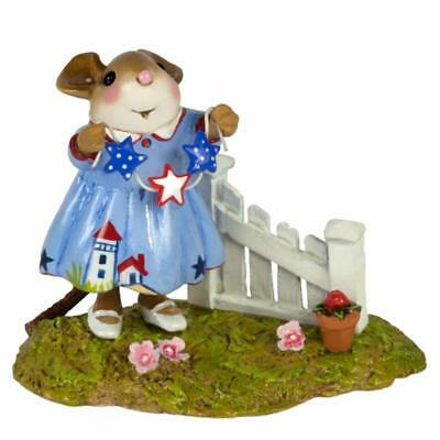 Wee Forest Folk M-631a Star Spangled