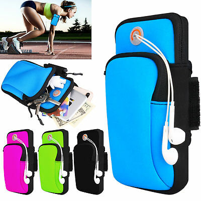 Gym Sport Running Jogging Armband Arm Band Pouch Holder Bag For Cell Phone US