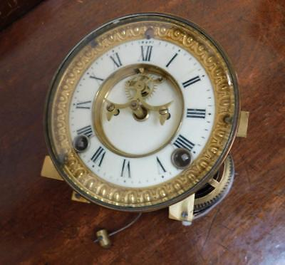 usa visible  escapement clock movement