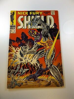 Nick Fury Agent of SHIELD #2 VG- condition Huge auction going on now!