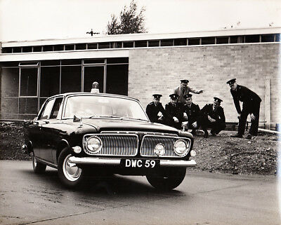 Ford Zephyr Six Police Car Version Period Photograph.