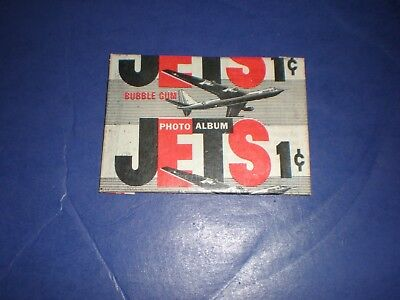 """""""Jets"""", 1956 Topps 1 Cent Wax Pack Photo Album"""
