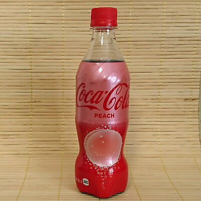 Japan COCA COLA PEACH Coke *IN STOCK* Japanese Momo Soda Limited Spring Edition