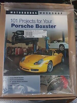 101 PROJECTS FOR YOUR PORSCHE BOXSTER 986 / 987 byWayne Dempsey