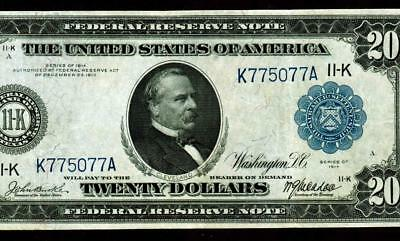 $20 1914 Federal Reserve Note ** MORE CURRENCY FOR SALE **