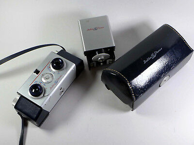 Delta Stereo Camera w/Case and flash, beautiful condition! - RL