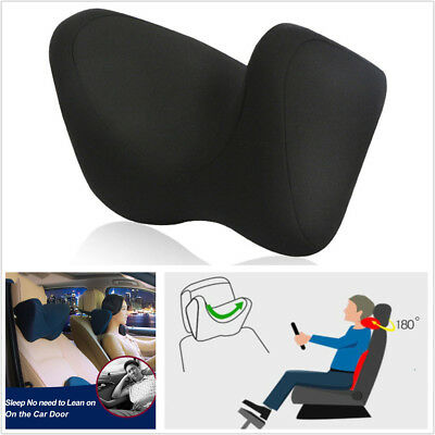 Car Seat Neck Pillow U-style Auto Headrest Pillow Support Protect Cervical Spine