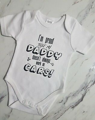 Personalised baby onsies Fun Quotes girl boy size 0