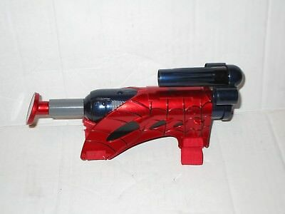 Marvel Hasbro Spiderman Wrist Soft Dart Gun Used Works Comics