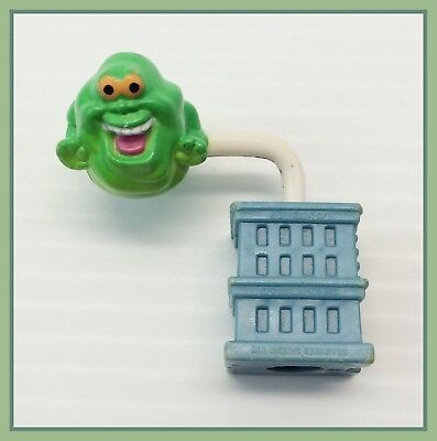 1987 Vintage The Real Ghostbusters Fidget Spinning Slimer Pencil Topper 1980's