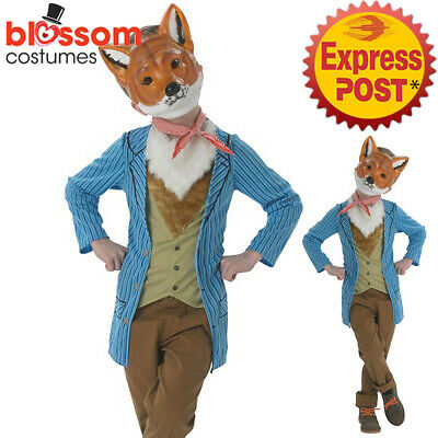 CK1149 Mr Fox Boys Roald Dahl Fantastic World Book Week Fancy Dress Kids Costume