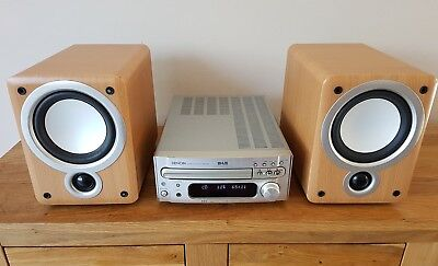 Denon RCD-M35DAB CD receiver with speakers