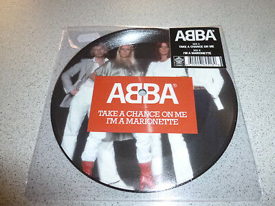 "ABBA - Take A Chance On Me / I'm A Marionette -  Picture 7"" Vinyl Single /// Neu"