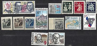 Lot of SLOVAKIA stamps    mnh & used