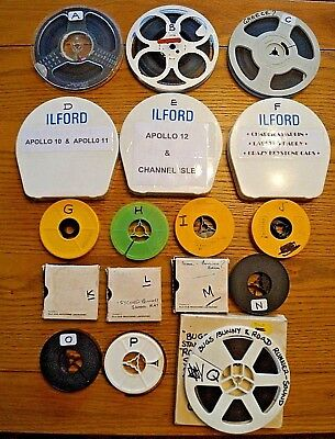A MIX OF 17 QTY. SUPER 8 & STANDARD 8mm CINE FILMS 50' and 200' (Details below)