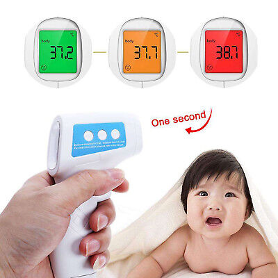 Non Contact Forehead Infrared Medical Digital Thermometer Baby Adult Body Care