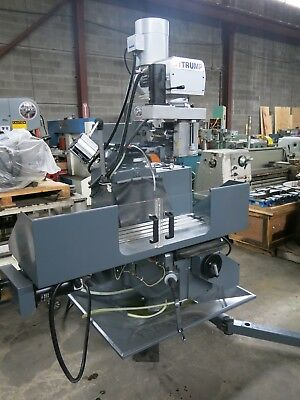 A-Trump 3VKNC 3-Axis CNC Knee Milling Machine 2010 with Centroid Control