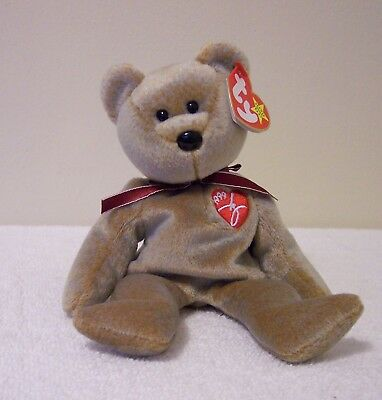 Ty Beanie Babies Collection   1999 Signature Bear