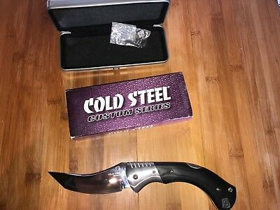 cold steel black sable san mai III quasi neuf